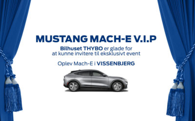 Mach-E VIP Event