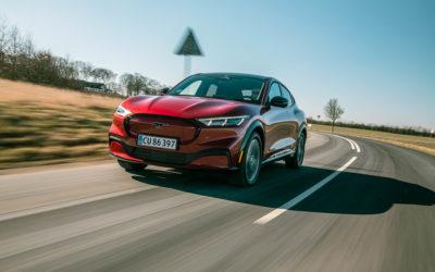 Tag et kig ind i fremtiden med Ford Mustang Mach-E