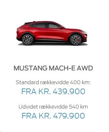 Mustang AWD