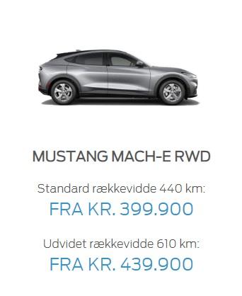 Mustang RWD